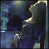 woman in the night