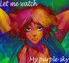 My purple sky