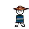 giles! in a sombrero!