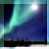 Reality leaves a lot to the imagination: aurora moon