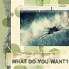 Generator!: what do you want?_saava