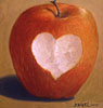Vanilla  ... Spiked with Slivovitz: apple