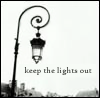 keep the lights out