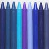 Blue-toned crayons, evolve_________/1