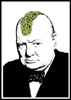 information throughput device: winston bloody churchill