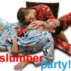 boys slumber party