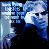 NCIS- flying toasters