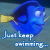 dory (just keep swimming)