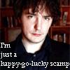 Happy-go-lucky scamp