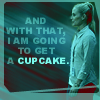 west wing - ainsley cupcake