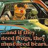 muppetology need bears fozzie & kermit
