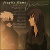 Fragile flame