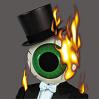 I my eye is on fire