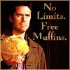 no limits, muffins