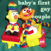 Kevenn: Ernie Bert Baby's First Gay Couple