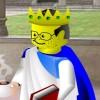 King of Books Easter Lemming Liberal Dem