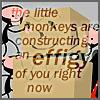 la renarde: monkey effigy