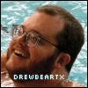Drew happy