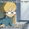 creativewriter!Jeremy