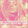 brit ♥ a 7 nation army couldn't hold ME
