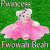 Princess Flower Bear