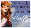 sleeps with butterflies