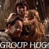 Catherine Bruce: XENA -- Group Hug!