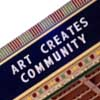 art creates community
