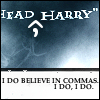 i do believe in commas