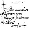 "Ender quote 2: ""Mandate of heaven"""