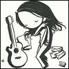 girl guitar