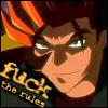 Brightdreamer (Mel): kazuma - fuck the rules