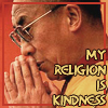 Dalai Lama: my religion is kindness