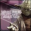SW Yoda yappin