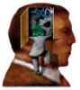 examined head, introspective