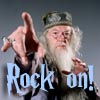 daylyn: Dumbledore rock on:skarch86