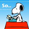 So...Snoopy