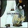 Pouncer: Penguins dreaming of flight