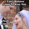 Self - Wedding kiss