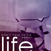 Don`t talk to me about life - Marvin