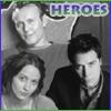 wes/fred/giles OT3!, heroes