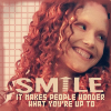 Eyja: smile by mordainlove