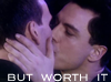 E: but worth it doctor/jack kiss