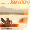 J.: DC - lazy days