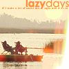 J.: DC - lazy days