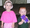 Maggie and Jamie 4/1/05