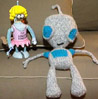 tchemgrrl: Knitted Gir and Windup Bender