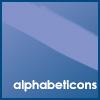 Alphabet Icon Challenge
