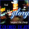 find glory