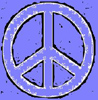 Peace big blue